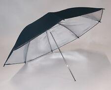 Studio Parapluie Réflecteur 90cm Intérieur Argent Aussern Noir pour éclair et