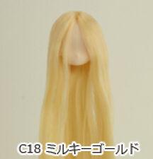Obitsu Doll 11cm hair implantation head for Whity body (11HD-F01WC18) M Gold