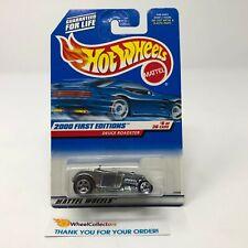 Deuce Roadster #66 * Silver * 2000 Hot Wheels * HC6
