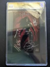 Ravenous #1 Ashcan Edition CGC SS 9.6 by Creature Entertainment. Signed!!
