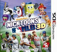 Nicktoons MLB 3D - Nintendo 3DS Game Only