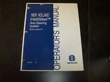 New Holland IntelliSteer Auto Steering System Version 3.0 Owner Operator Manual