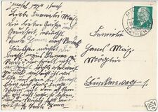 Landpoststempel, Poststelle I, Milow über Rathenow, 20.12.61
