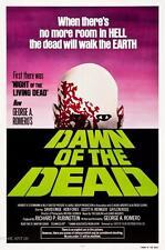 Amanecer de los muertos Vintage Movie Poster Película A4 A3 Art Print Cine