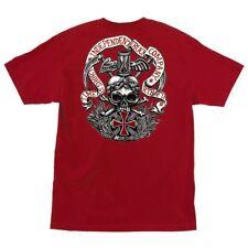 Independent Trucks Rtb Time Is Short Skateboard T Shirt Cardinal Red Medium