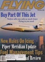 Flying Magazine (Nov 1998) (Netjets, Piper Meridian, Cessna 177 Cardinal Review)