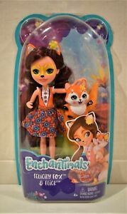 Felicity Fox & Flick Enchantimals By Mattel Caring Is Everything Toy Figures