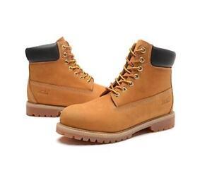 Jacata Men Winter Snow Work Boots Work Shoe Waterproof Genuine Leather 061