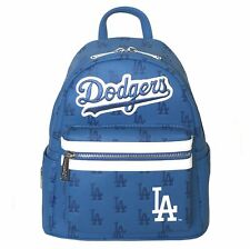 Loungefly MLB LA Dodgers Blue All Over Print AOP Mini Backpack