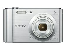 Sony Cybershot W800 20 MP 5x Optical Zoom Compact Camera - Silver