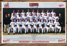 """The 2008 NEW BRITAIN ROCKCATS 11x17"""" Team Poster TWINS Rock Cats Connecticut"""