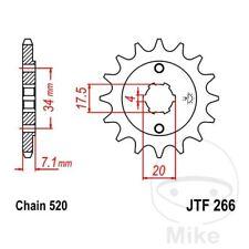 JT Front Sprocket 13T 520 Pitch JTF266.13 Honda CR 125 R 1981