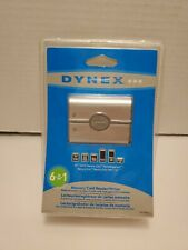C2 - Dynex DX-CR501 External USB 6-in-1 Multi Memory Card Reader/Writer New