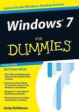 Windows 7 für Dummies von Andy Rathbone (2013, Taschenbuch)