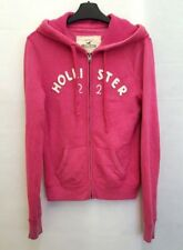 HOLLISTER Womens Hoodie Jacket S Small Pink