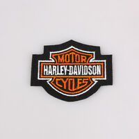 """Harley Davidson Classic Bar And Shield Embroidered Patch Iron on 2.5x2"""" 6.5x5Cm"""