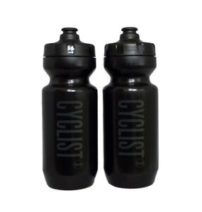 2 Black Purist Cyclist3 water bottles bidon bike cycling for specialized!