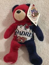San Diego Padres MLB Bear 35th Year Anniversary Beanie Bear New W/ Tags