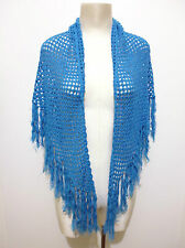 CULT VINTAGE '70 Scialle Stola Donna Cotone Woman Hand Made Cotton Shawl
