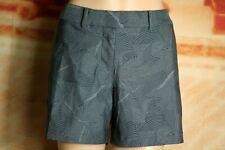 Nike Flex Dri-Fit Golf Shorts Gray Print 4 Pocket Stretch Womens Size 8 NWT