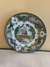 Vintage Early 1980's Washington D.C. State Souvenir Collector Plate