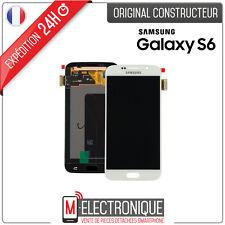 Pantalla LCD juego completo Táctil blanco para Samsung Galaxy S6 G920 G920f