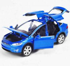 1:32 Scale  Tesla MODELX90 Alloy Diecast Car Model W/Light& Sound Toy Gift