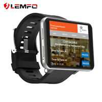 Lemfo LEMT Reloj inteligente 4G WiFi 1+16G Android7.1 Impermeable Ritmo cardiaco