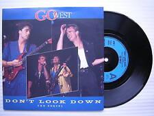 Go West - Ne Look Down / Innocence, chrysalis gow-3 EX+ état 17.8cm Unique