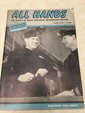 February, 1946 All Hands Navy Bulletin - Bluejackets' New Jacket?