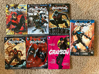 Graphic Novel Lot Nightwing Grayson Rebirth HC New 52 Omnibus Vol 1 2 TPB Batman