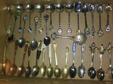New ListingVintage Collector Spoons Mixed Lot of 30