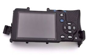 Pentax K-30 Back Cover With LCD Replacement Part