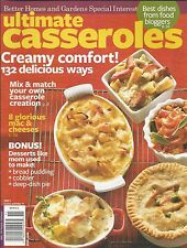 Ultimate Casseroles magazine Comfort food Mac and cheese recipe Cobbler Pies