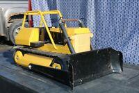 Tonka Toys Pressed Steel T9 Bulldozer - repainted