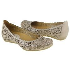 Earthies Bindi Biscuit Women's Leather Flats Comfort Shoes Slip on Size 7M