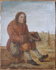 Aquarelle dessin flamand hollandais du 18e siècle 18th century