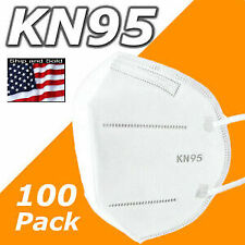 100 Pack KN95 MEDICAL Face Mask Cover Protection Respirator Masks KN 95 5-Layers