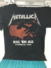 NOUVEAU ET OFFICIEL! T-Shirt Metallica /'Kill Em All/' Noir