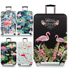 18''-32'' Flamingo Travel Luggage Cover Protector Elastic Suitcase Dust-Proof
