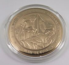 May 21, 1881 American Red Cross Organized  Franklin Mint Solid Bronze Coin Medal
