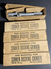 Lot Of Vintage Sunnen Bushing Grinder Mandrels Form No. PHG-173A