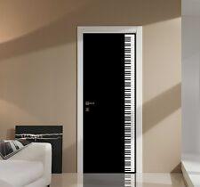 Piano Door or Wall Graphic-Vinyl Decal Art Sticker Decoration-Unique!-USA Seller