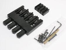 Brand new hipshot 4 string black headless system 19mm 0.750 string spacing