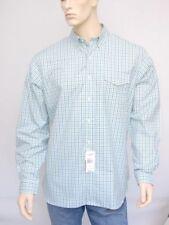 Nwt Ralph Lauren Golf Men's Cotton Shirt Top ~Laguna Green/Blue Paid *L