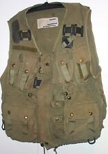 CANADIAN MILITARY ARMY TACTICAL COMBAT LOAD BEARING VEST-OLIVE DRAB