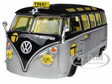 "VOLKSWAGEN SAMBA VAN/BUS TAXI 1/25 ""ALL STARS"" DIECAST MODEL CAR BY MAISTO 31364"
