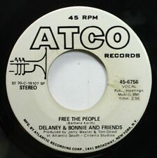 Rock Promo 45 Delaney & Bonnie And Friends - Free The People / Free The People O