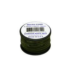 Atwood Rope 1.18mm Microcord 125 foot spool - Od Green