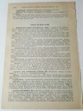1911 Railroad report of street railways New York Horse & Electric trolley 100+pg